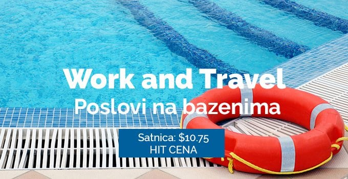 Lifeguard program - rad na bazenima Work and travel