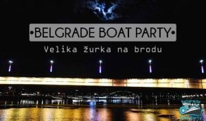 Belgrade Boat Party - Velika žurka na reci @ Mesto ukrcavanja: Jahting klub Kej