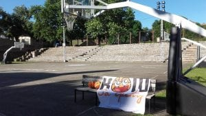 Humanitarna utakmica - Koš za sreću @ Košarkaški teren KK Partizan   Beograd   Srbija