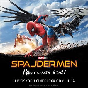 Film: Spajdermen - Povratak kući @ Cineplexx BIG | Beograd | Srbija