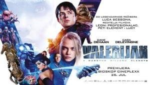 Film Valerijan i carstvo hiljadu planeta @ Cineplexx BIG Beograd