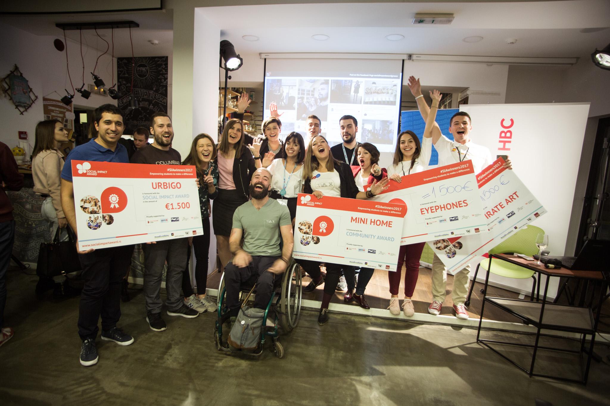 Social Impact Award - Dodeljene nagrade najboljim preduzetničkim idejama mladih