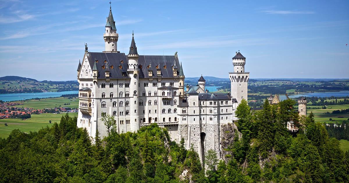 Dvorac Nojšvanštajn Bavarska