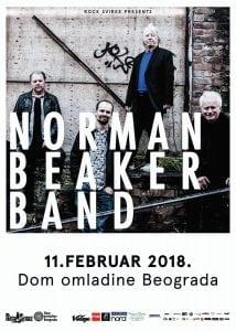 Norman Beaker Band @ Dom Omladine Beograda