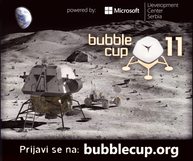bubble cup 11