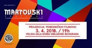 Pobednički filmovi 65. Martovskog festivala @ Dom omladine u Beogradu