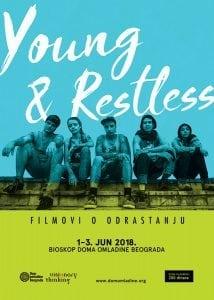 Young and restless: Filmovi o nemirnoj mladosti @ Dom omladine Beograda//Velika sala