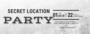 Secret location party