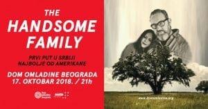 The Handsome Family prvi put sviraju u Srbiji @ Dom omladine Beograda