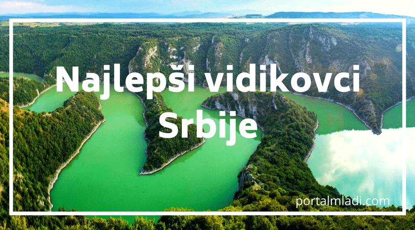Najlepši vidikovci u Srbiji