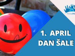 1 april Svetski dan šale